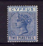 CHYPRE - 1882-86 - N° 19 - PL 2 - Neuf  X - Trace Légère -  Cote 18 € - TB - - Cyprus (...-1960)