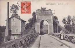 [89] Yonne > Villevallier Le Pont Suspendu - Autres Communes