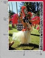 CARTOLINA VG POLINESIA FRANCESE - Danzatrice - OTEA TAHITI - 10 X 15 - ANN. 1984 AFAREAITU MOOREA - Polynésie Française