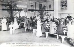 Clermont-Ferrand - Hôpital MICHELIN - Le Réfectoire - Très Beau Plan Animé Rare - Clermont Ferrand