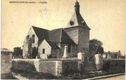 BOINVILLIERS .... L EGLISE - France