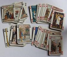 RARE Ancien Jeu De 52 Cartes à Jouer Publicité KUB Maggi Affiche Publicitaire - 54 Cards