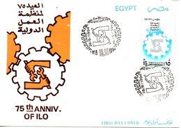 EGYPTE. N°1520 De 1994 Sur Enveloppe 1er Jour. OIT. - ILO