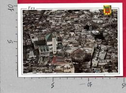 CARTOLINA VG MAROCCO - FEZ - Panorama Aereo - 10 X 15 - ANN. 1998 - Fez