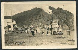 Yukon River Steamer 'Schwatka' Near Eagle Alaska. Wile's Emporium, Fairbanks RP Postcard - United States