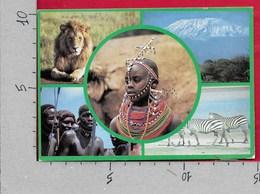 CARTOLINA VG KENIA - Popular Kenya Scenes - 10 X 15 - ANN. 1986 NAIROBI - Kenia