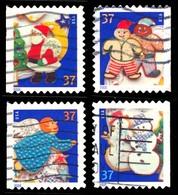 Etats-Unis / United States (Scott No.3957-60 - Noël / 2005 / Christmas)+ (o) ATM   P3 - Série / Set - Verenigde Staten