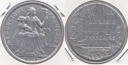 Polinesia Francese 2 Francs 1965 KM#3 - Used - Polinesia Francese