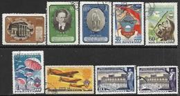 Russia 1951  3 Used Sets   2016 Scott Value $4.45 - 1923-1991 USSR