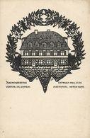 VOERDE, Baustein Für Die Jugendherberge, Architect Gerhards (1920s) AK - Voerde