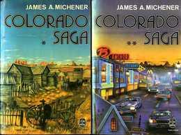 Colorado Saga (complet Des 2 Tomes) Par Michener (ISBN 2253017574 - 2253017582) - Aventure