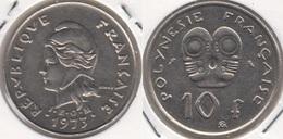 Polinesia Francese 10 Francs 1973 KM#8 - Used - Polynésie Française
