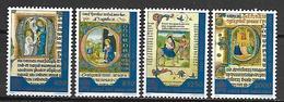 VATICAN     -    1995 .   Y&T  N° 1025 à 1028 *.  Série Complète.   Enluminures - Vatican
