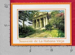 CARTOLINA VG CUBA - Souvenir De LA HABANA VIEJA - 10 X 15 - ANN. 198? - Cuba