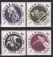 JAPAN 1963-Olympic Games, Tokyo - Mi 846-849 - SPECIMEN (MIHON) - Rare! - MNH** VF - 1926-89 Emperor Hirohito (Showa Era)