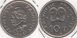 Polinesia Francese 10 Francs 1982 KM#8 - Used - Polynésie Française