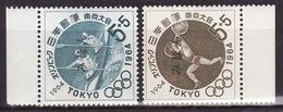 JAPAN 1964-Olympic Games, Tokyo - Mi 863,865 - SPECIMEN (MIHON) - Rare! - MNH** VF - 1926-89 Emperor Hirohito (Showa Era)