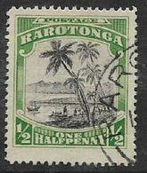 Cook Islands, 1920, 1/2d Black &green, Used - Cook Islands