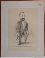 """Mons. Superbe Caricature De """"Armand Hubert"""" Par René D'Inn. Publiée En 1909 - Culture"""