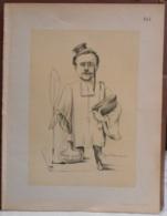 """Mons. Superbe Caricature De """"Georges Heupgen"""" Par René D'Inn. Publiée En 1909 - Culture"""