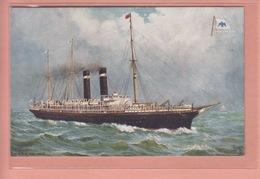 OLD POSTCARD - SHIPPING -    AMERICAN LINE - S.S. PHILADELPHIA - TUCK - Paquebots