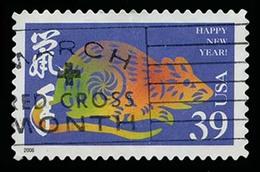 Etats-Unis / United States (Scott No.3997a - Zodiaque Chinois / Chinese Zodiac) (o) - Verenigde Staten