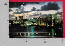 CARTOLINA VG USA PUERTO RICO - CONDADO At Night - 10 X 15 - ANN. 1996 SAN JUAN - Puerto Rico