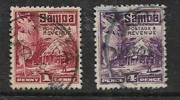 Samoa, 1924, 4d, 1d, Used - Samoa