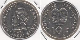 Polinesia Francese 10 Francs 1998 KM#8 - Used - Polynésie Française