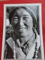 Népal Visage Femme De Loba Mustang - Népal