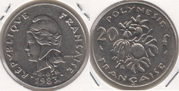 Polinesia Francese 20 Francs 1983 KM#9 - Used - Polinesia Francese