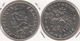 Polinesia Francese 20 Francs 1984 KM#9 - Used - Polinesia Francese
