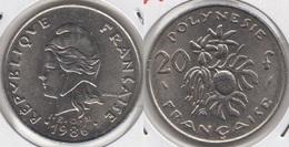Polinesia Francese 20 Francs 1986 KM#9 - Used - Polynésie Française
