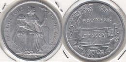 Polinesia Francese 2 Francs 1973 KM#10 - Used - Polynésie Française