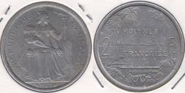 Polinesia Francese 2 Francs 1975 KM#10 - Used - Polinesia Francese