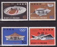 JAPAN 1964-Olympic Games, Tokyo - Mi 870-873 - SPECIMEN (MIHON) - Rare! - MNH** VF - 1926-89 Emperor Hirohito (Showa Era)