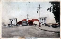 SINGAPUR - ANDERSON BRIDGE, Strassenbahn, Alte Karte Um 191? - Singapore