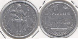 Polinesia Francese 1 Franc 1977 KM#11 - Used - Polynésie Française