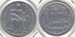 Polinesia Francese 1 Franc 1996 KM#11 - Used - Polynésie Française