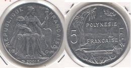 Polinesia Francese 5 Francs 2001 KM#12 - Used - Polynésie Française