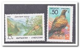 Kirgizië 1992, Postfris MNH, Birds - Kirgizië