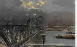 AK 0078  Rheinbrücke Zwischen Duisburg Und Homberg-Ruhrort - Verlag Wandt Um 1910-20 - Brücken