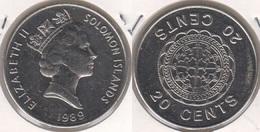 Solomon Island 20 Cents 1989 KM#28 - Used - Islas Salomón