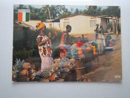 COTE D'IVOIRE Marchande D'ananas - Ivory Coast