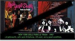 """NEW YORK DOLLS"" PARIS LE TRASH -1993- - Hard Rock & Metal"