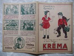 Année 60 Protège Cahier  BONBONS  KREMA - Protège-cahiers