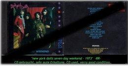 """NEW YORK DOLLS"" SEVEN DAYS WEEKEND -1992- -RR- - Hard Rock & Metal"
