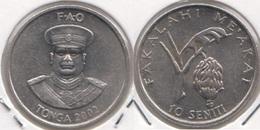 Tonga 10 Seniti 2002 F.A.O. KM#69a - Used - Tonga