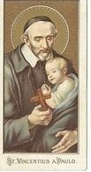 DI/58/ S.VINCENTIUS A PAULO        PRACHT LITHO'S MET GOUDOPDRUK!!! - Religion & Esotérisme
