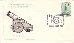ARGENTINA  1963 BATTLE OF SALTA COVER  (NOV180057) - FDC